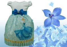 Vestido Cinderela Festa Infantil Tema Aniversário Cinderela Princesa Disney.