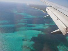Lua-de-mel – Enfim Noiva | Blog de Casamento-Cancun-vista do avião