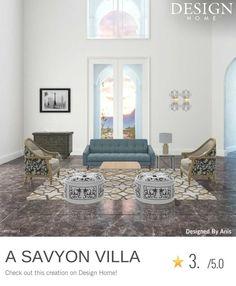 My Design, House Design, Villa, Home, Ad Home, Homes, Architecture Design, House Plans, Fork