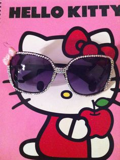 Hello Kitty Bling Sunglasses by DLofAZjewelry on Etsy, $20.00
