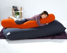 This giant squishy body pillow: | 28 Cozy Things You Need For Your Bedroom