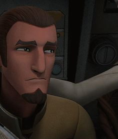 "Kanan and Hera. This is a snapshot of their relationship. Kanan learns that there are two new Inquisitors and they're after him, Ezra and Ahsoka. And Hera comes in, and in that simple gesture says ""It's ok. I'm here for you."""