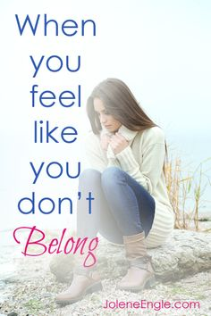 When You Feel Like You Don't Belong