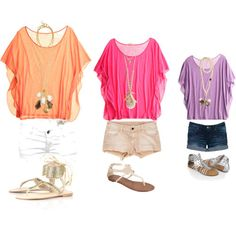 Find images and videos about summer outfits on We Heart It - the app to get lost in what you love. Summer Fashion Outfits, Teen Fashion, Spring Summer Fashion, Love Fashion, Winter Fashion, Fashion 2018, Polyvore Outfits, Outfit Strand, Hawaii Outfits
