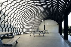 barrel vaulting | ... barrel vault for Kamala's Marquee, a new function space at the hub