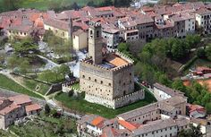 Poppi, AREZZO, Toscana. Il castello