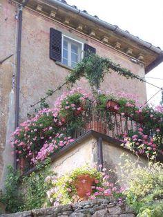Balcony at Bramasole
