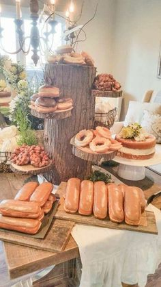 Rustic Vintage Woodland Baby Shower Baby Shower Party Ideas | Photo 4 of 17