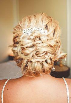 Updo Wedding Hairstyle