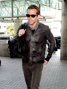 I stood next to him at the airport.  Sadly he was waiting for Scarlett.  I tried to warn him.