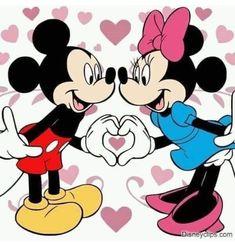 Disney Mickey Mouse, Mini Y Mickey, Mickey Mouse E Amigos, Minnie Mouse Drawing, Mickey E Minnie Mouse, Mickey Mouse Drawings, Mickey And Minnie Love, Mickey Mouse Pictures, Minnie Mouse Pictures