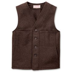 Filson Mackinaw wool vest.