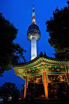 The best way to visit N Seoul Tower is to go hike the Mt Namsan. People flock here mostly during Spring to watch cherry blossom. Seoul Places To Visit, Stuff To Do, Things To Do, South Korea Travel, Seoul Korea, Dream City, Cheap Hotels, Travel Information, Travel Goals