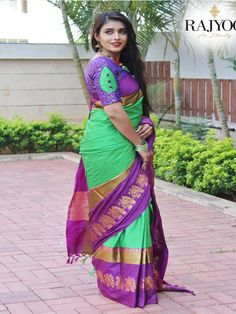 Style Array Present Beautiful Multi Color Embroidered Branded Silk Cotton Saree . Buy This Attractive Look Beautiful Multi Color Embroidered Branded Silk Cotton Saree Cutwork Blouse Designs, Pattu Saree Blouse Designs, Simple Blouse Designs, Stylish Blouse Design, Bridal Blouse Designs, Lehenga Blouse, Designer Saree Blouses, Designer Blouse Patterns, Designer Dresses