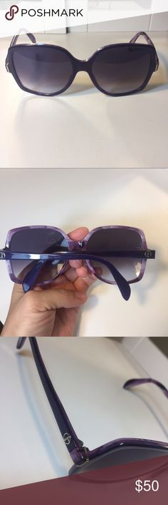 Giorgio Armani Violet Sunglasses Authentic Giorgio Armani women's sunglasses in the color violet offers UV protection these are stunning and a great deal! Giorgio Armani Accessories Sunglasses