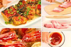Le travers de porc à la sauce barbecue - La Recette