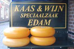 Edamer Käse schmeckt lecker - guten Appetit!