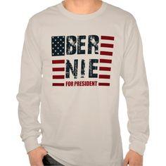 Bernie Sanders US Flag T Shirt, Hoodie Sweatshirt