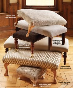 Living room - Footstools - The Dormy House 35cm #thedormyhouse