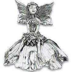 Reed & Barton Silver Plated Flower Fairy Musical