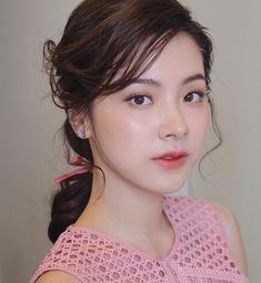 19 ideas bridal look brunette Fresh Makeup Look, Summer Makeup Looks, Bridal Makeup, Wedding Makeup, Bridal Hair, Beautiful Girl Image, Beautiful Asian Girls, Beautiful Ladies, Sky E