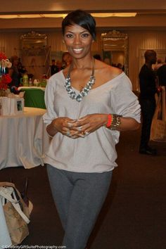 Carmelita Jeter attend at Red Carpet Events LA Grammy Awards Gifting Suite 2012