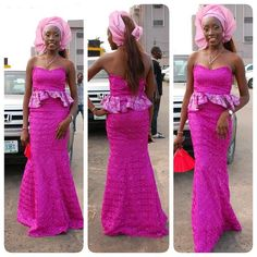 Pretty Perfect Aso-Ebi Styles & Trends that will Make you Swoon...200 + Modern Styles! - Wedding Digest Naija