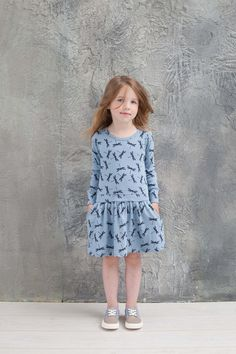 mini dress dragonfly blue nosweet