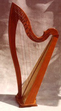 Irish Classic  from Piper harp   Cool neck styling.