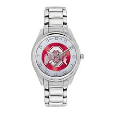 Women's Wrist Watches - Game Time Womens COLWCDOSU Wild Card Watch  Ohio State -- Check out this great product.