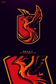 Eagle Mascot, Eagle Logo, Logo Esport, Team Logo Design, Esports Logo, Sports Team Logos, Cartoon Logo, Logo Concept, Cool Logo
