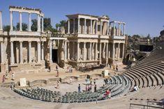 Teatro Romano de Mérida (Extremadura)-ESPAÑA