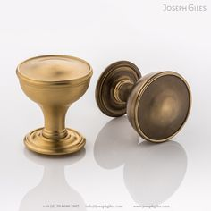 With a nod towards period Georgian styling, the tactile, rounded shape of this Darlington solid #brass #doorknob is a refined choice. The shaping of the rose subtly catches the light and echoes the door knob's beautiful shaping. Whilst evoking memories of times past, its functional simplicity ensures it remains just as relevant in contemporary interiors. It is available in all our signature finishes. #hardware #interiors #luxuryhome Contemporary Interior, Door Knobs, Solid Brass, Antique Brass, Joseph, Art Nouveau, How To Find Out, Hardware, Antiques