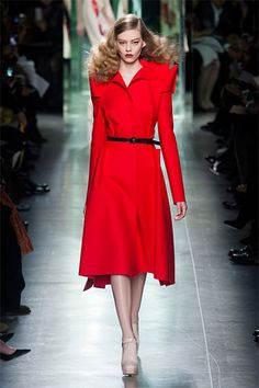 See the best runway looks from Milan Fashion Week Fall 2013.