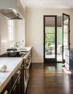 29 french doors that provide a grand entrance home dreamboard cabinet refacing colonial style kitchen remodel modern architect bethesda maryland exterior french doors kitchen renovations freerunsca Choice Image