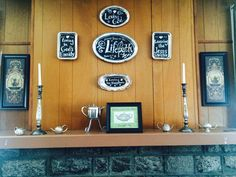 Vintage tea trays repurposed with chalk contact paper and liquid chalk marker. Liquid Chalk Markers, Tea Tray, Touching Herself, Contact Paper, Vintage Tea, Trays, Repurposed, Pretty, Room