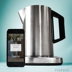 iKettle boils water on command for lazy smartphone users via @CNET