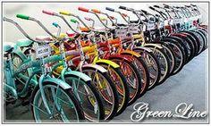 Beach Cruisers San Diego CA for Sale | Greenline Beach Cruisers San Diego CA and Bikes