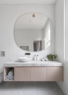 Awesome 20 Outstanding Bathroom Mirror Design Ideas For Any Bathroom Model Bathroom Mirror Design, Bathroom Interior, Master Bathroom, Bathroom Lighting, Tile Mirror, Bathroom Grey, Vanity Design, Parisian Bathroom, Bathroom Canvas