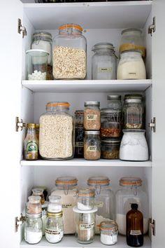 Kitchen organization tips from Deb Perelman of Smitten Kitchen.