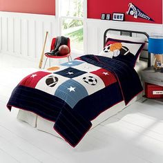Jumping #PCandKohlsBTS what's better than fresh new bedding to get new school year started