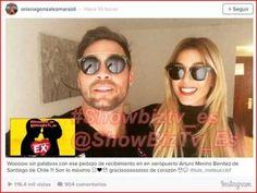 #VolveríascntuEX? #Oriana llega a Chile y los esperaban fotógrafos, paparazzis y causó un gran revuelo en el aeropuerto