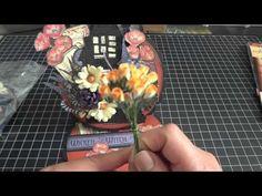 Halloween Easel Circle Card