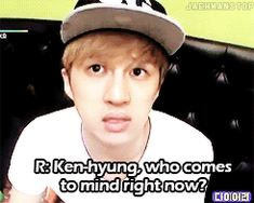 LOL. I have been waiting for this kinda answer from a kpop idol. At long last xD