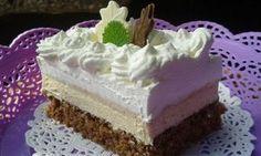 Nejdříve uvaříme 2 pudinky v 1/2 l mléka s 3 lžícemi cukru. Necháme vychladit. Vejce ušleháme s cukrem a postupně po lžících přidáváme horkou... Czech Recipes, Russian Recipes, Delish Cakes, Cake Recipes, Dessert Recipes, Pavlova, Mini Cakes, Vanilla Cake, Baked Goods