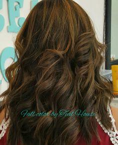 Fall hair color @tealhousecreative
