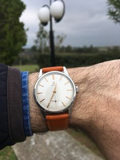 Omega vintage caliber 268. Absolute style.