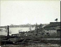 Üsküdar /Selimiye - 1870'ler  Fotoğraf : Guillaume Berggren