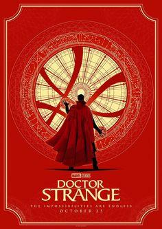 Doctor Strange Poster Series - Created by Matt Ferguson