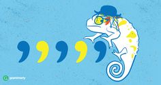 Comma examples - Culture Club Chameleon Pun